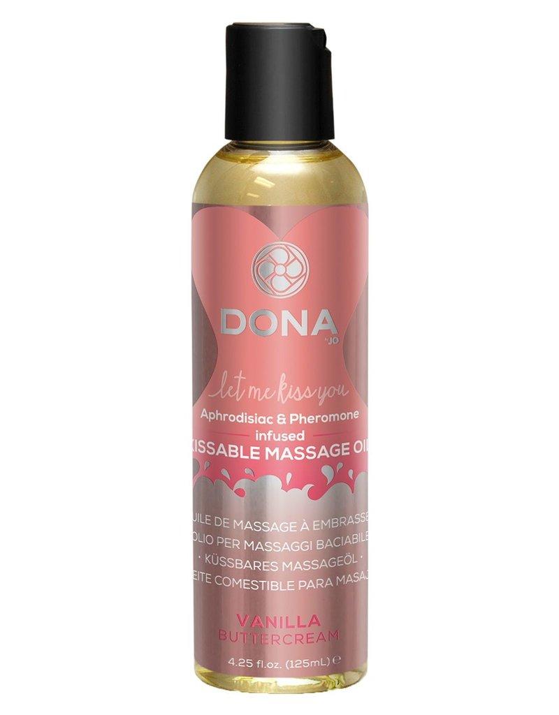 Dona by Jo Dona Massage Oil Vanilla Buttercream Kissable 125ml
