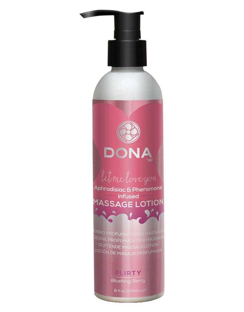 Dona by Jo Dona Massage Lotion Blushing Berry 235 ml