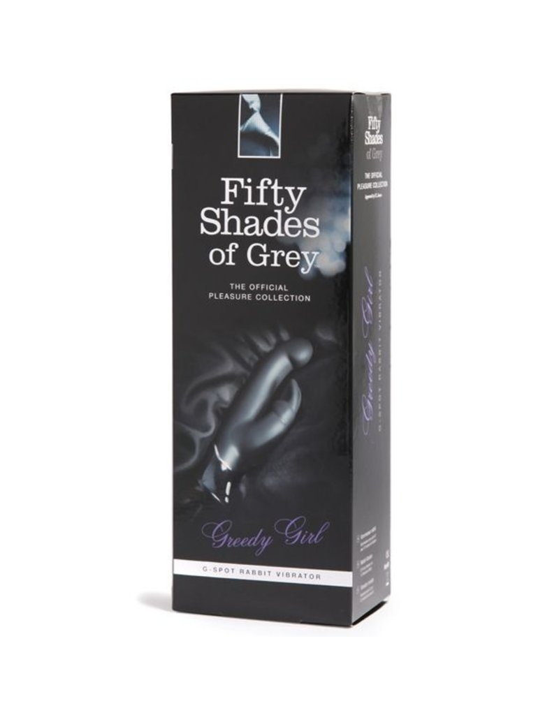 Fifty Shades of Grey Fifty Shades of Grey G-Spot Rabbit Vibrator Black