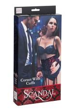 CalExotics CalExotics Scandal Corset With Cuffs