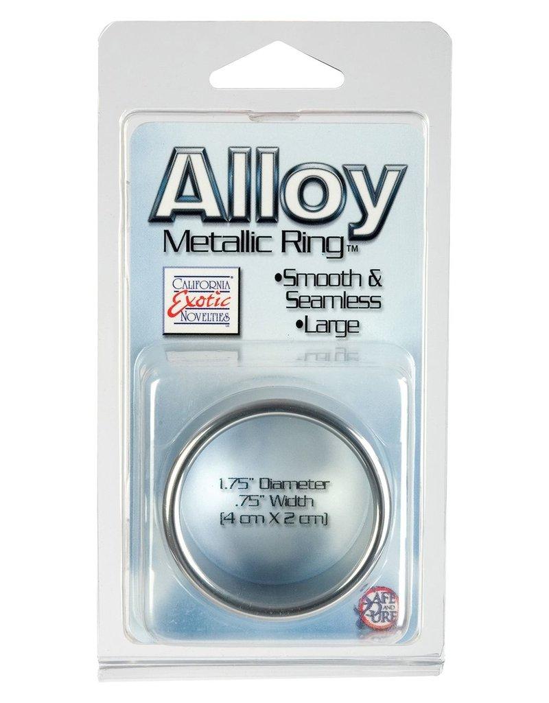 CalExotics Alloy Metallic Cockring Large