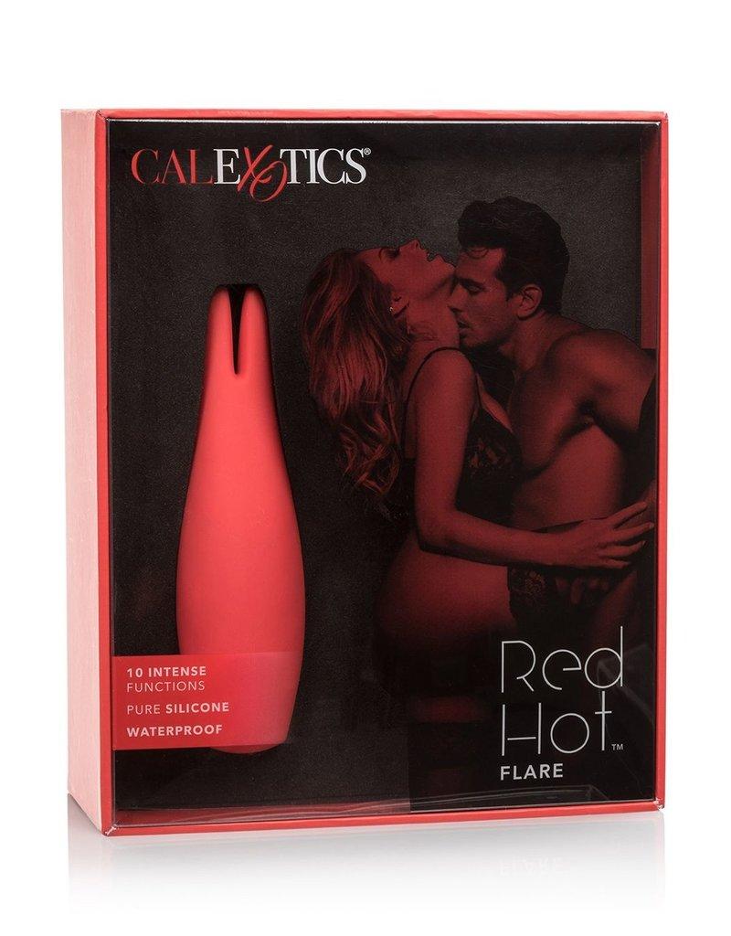 CalExotics Red Hot Flare Vibrator