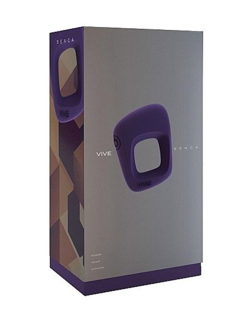 Vive Vive Senca Vibrerende Cockring Purple