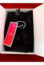 Obsessive Obsessive Alluria Kimono & String Zwart L/XL