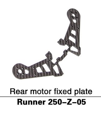 Walkera Runner 250 Rear motor fixed plate, runner 250-Z-05