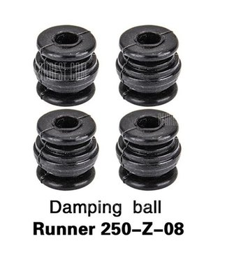 Walkera Runner 250 Damping ball set, Runner 250-Z-08