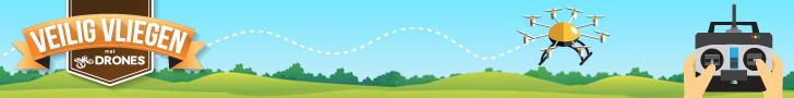 Veilig vliegen drones