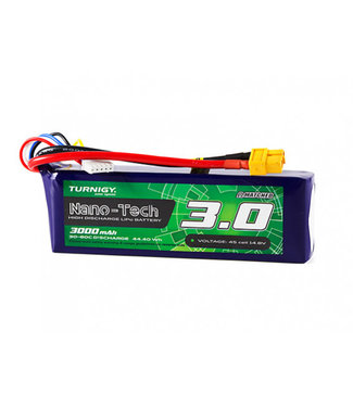Turnigy Turnigy Nano-Tech 3000mAh 4S 30C Lipo Pack w/XT60