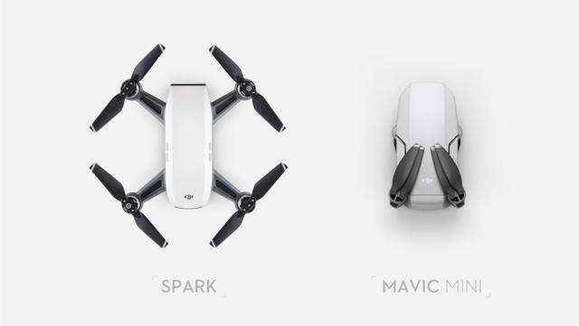 DJI Mavic Mini vs DJI Spark