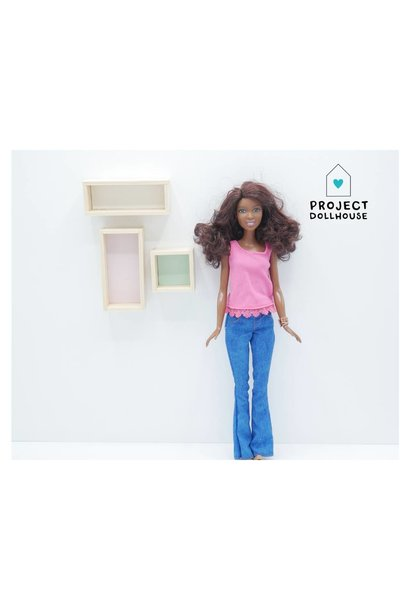 Wall Cabinets Barbie