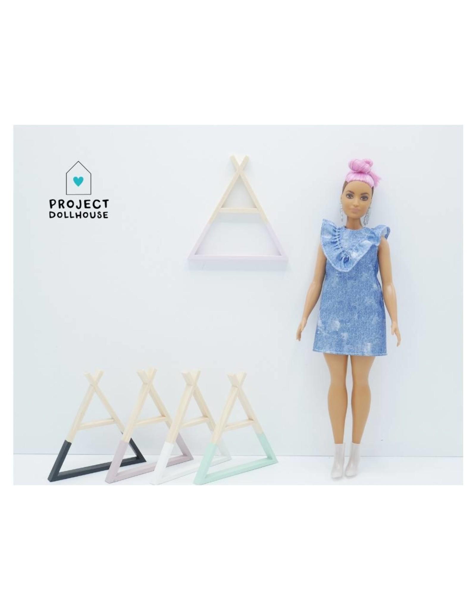 Project Dollhouse Tipi Wandrek Barbie
