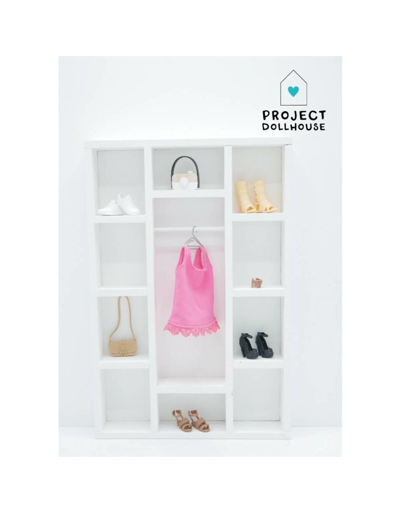 Project Dollhouse Wardrobe Barbie
