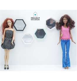 Project Dollhouse Hexagon Spiegel Barbie