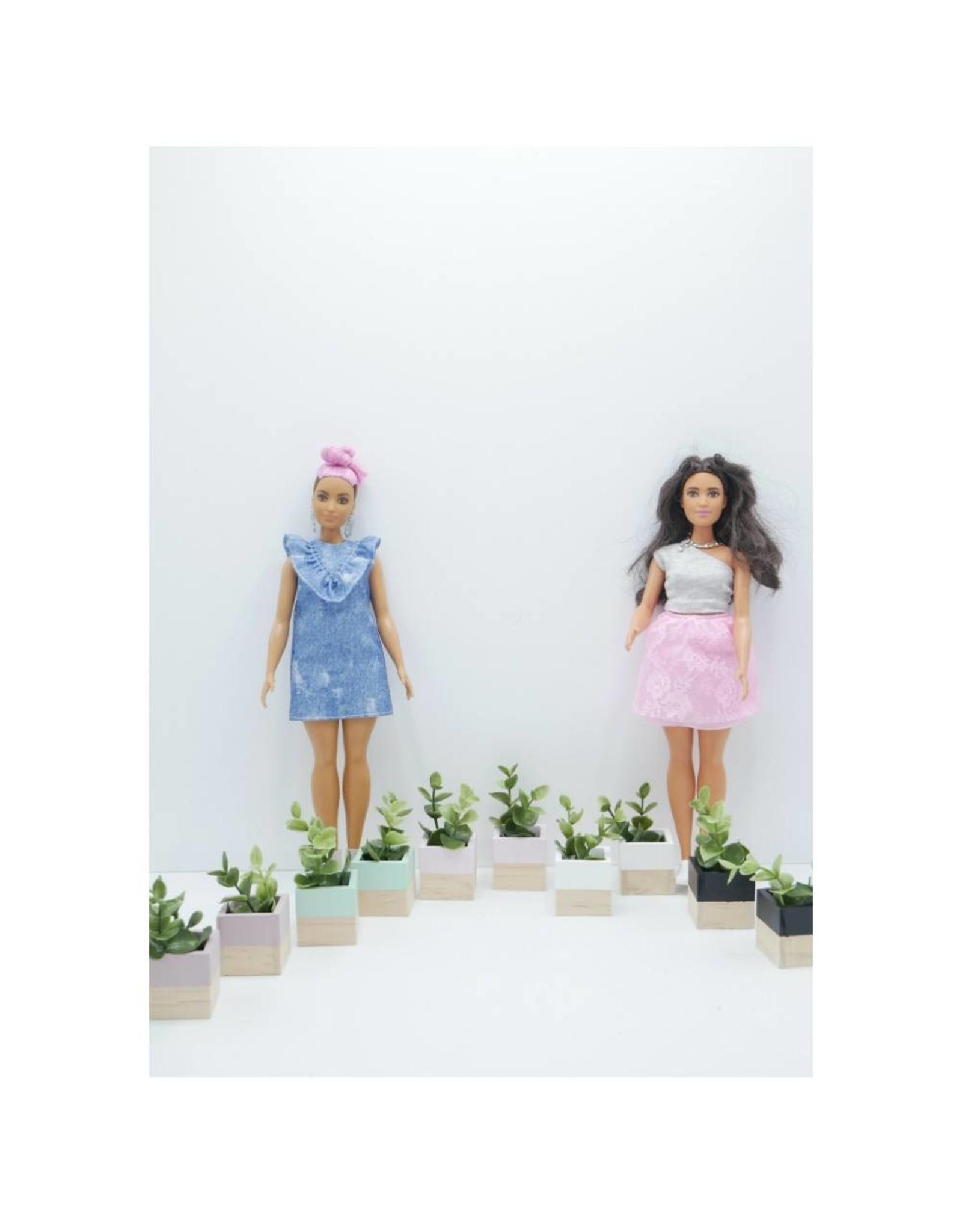 Project Dollhouse Modern Planter Set Barbie
