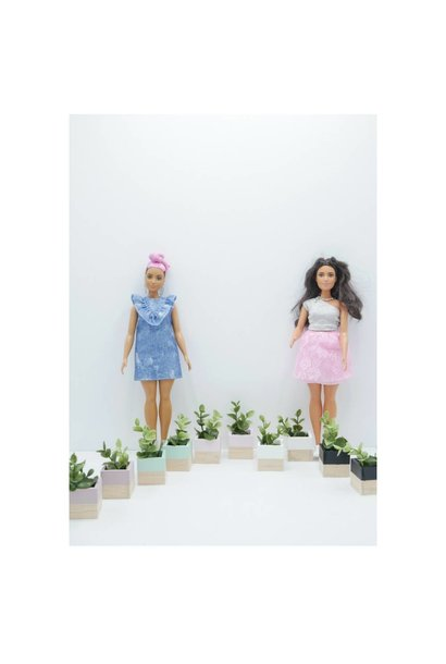 Modern Planter Set Barbie