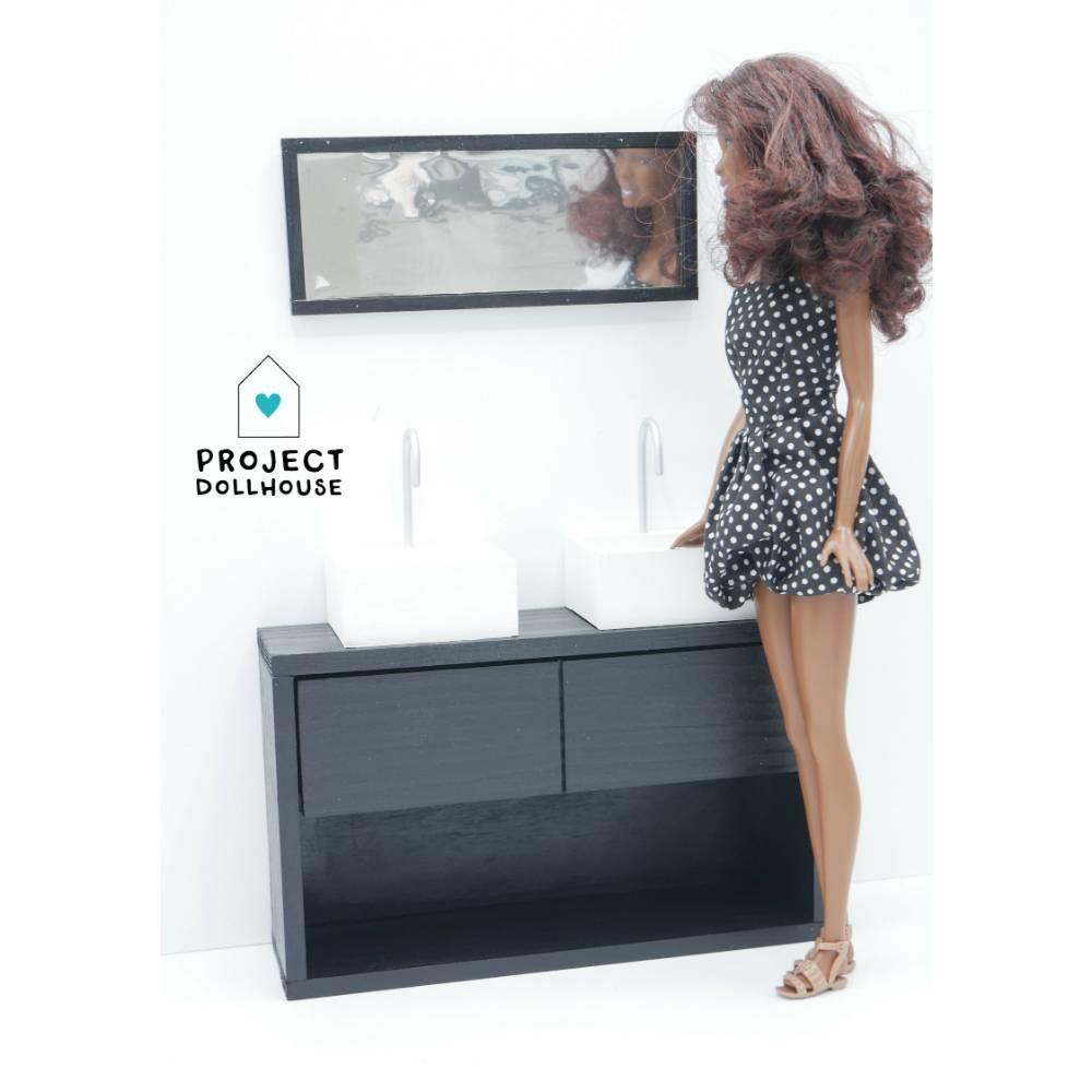 Badkamer Zwart Barbie-3