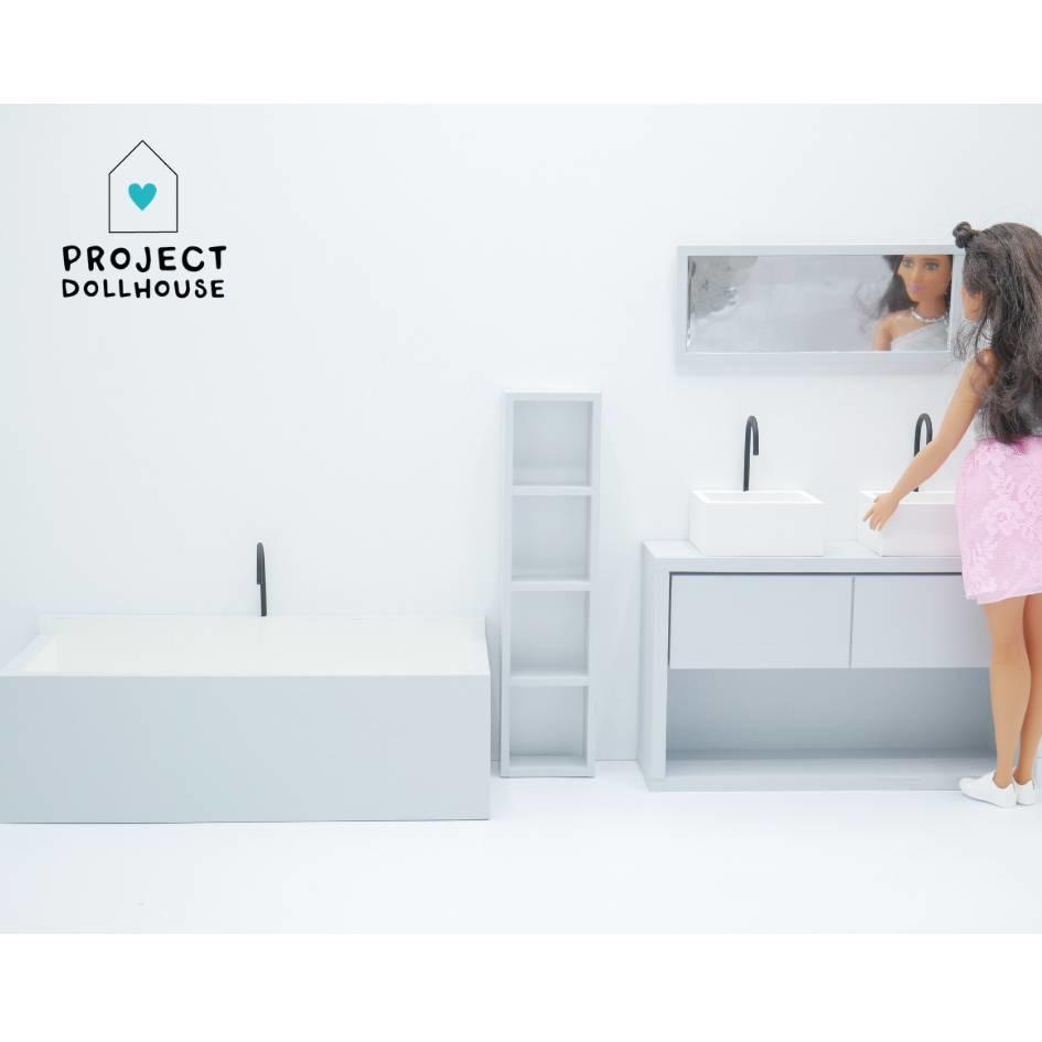 Bathroom Grey Barbie-1