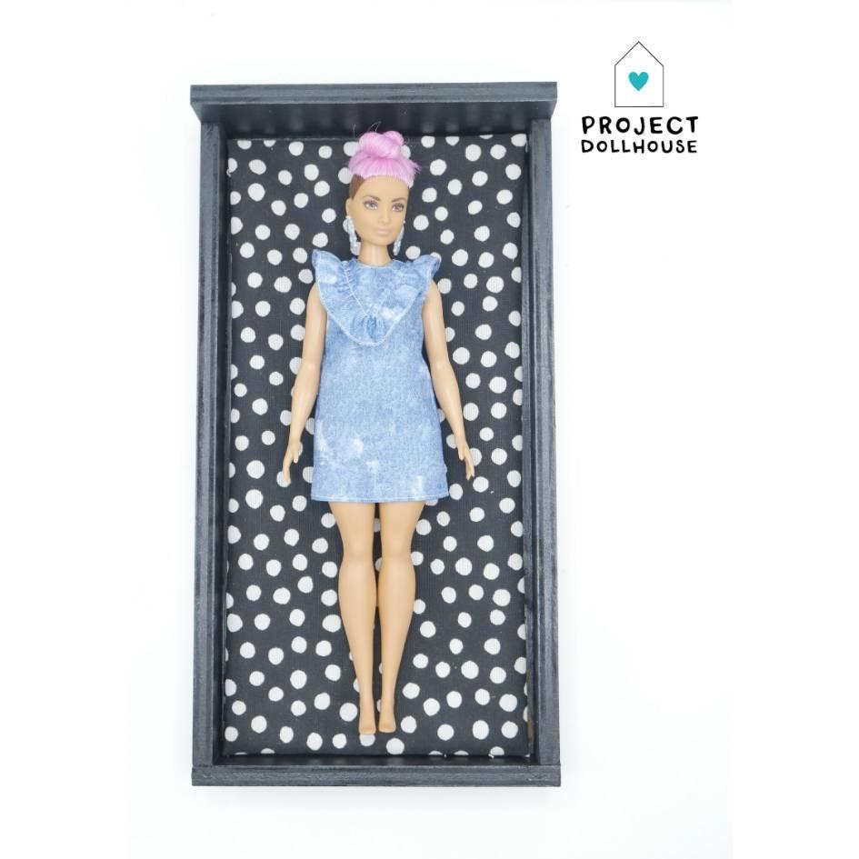 Bed Zwart Barbie-2