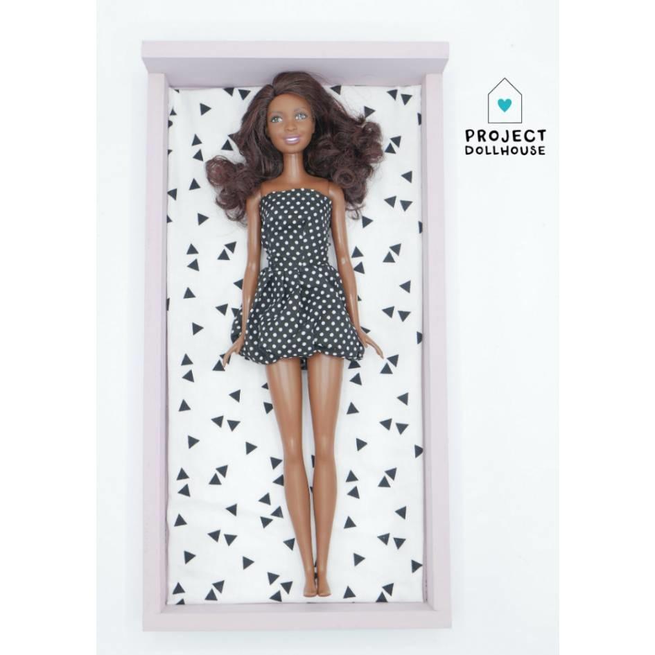 Bed Oud Roze Barbie-1