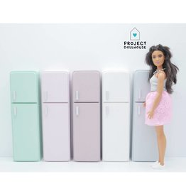 Project Dollhouse Refrigerator Barbie