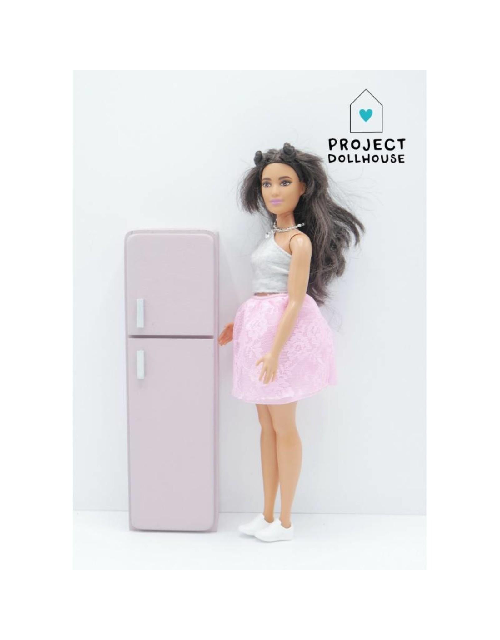 Project Dollhouse Koelkast Barbie