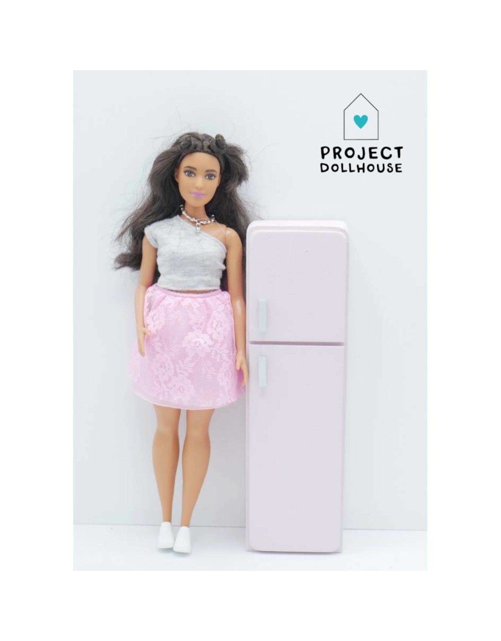 Project Dollhouse Koelkast Barbie
