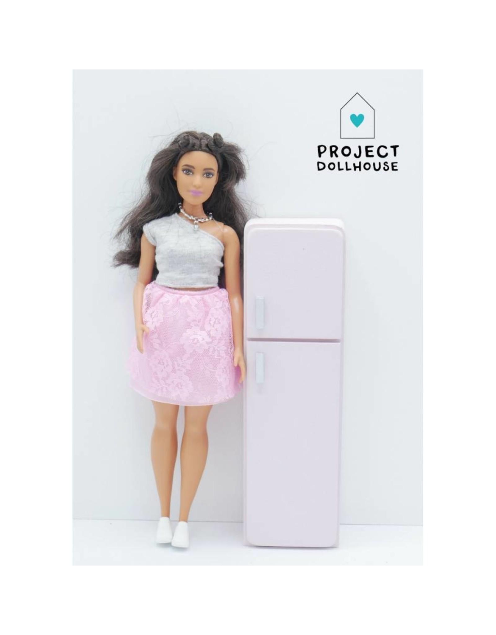 Project Dollhouse Refrigerator Barbie