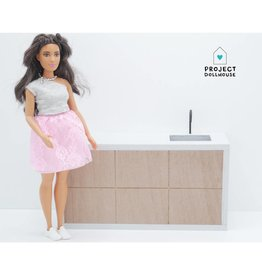 Project Dollhouse Moderne Keuken Barbie