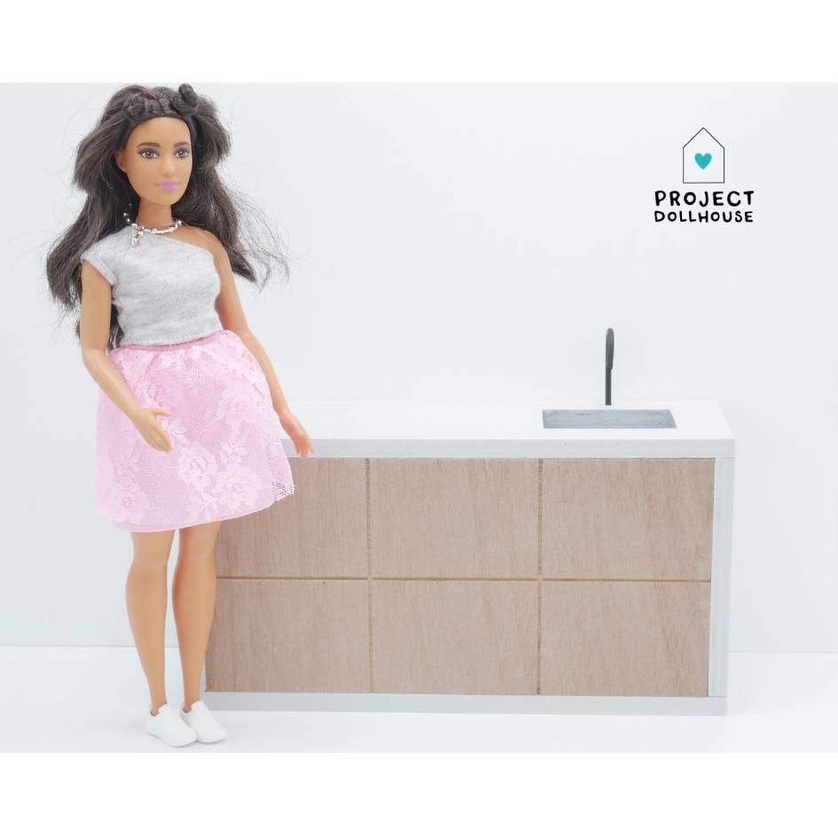 Modern Kitchen Barbie-1