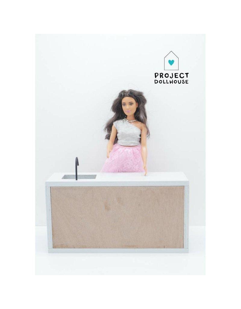 Project Dollhouse Modern Kitchen Barbie