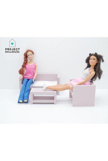 Barbie Lounge Old Pink
