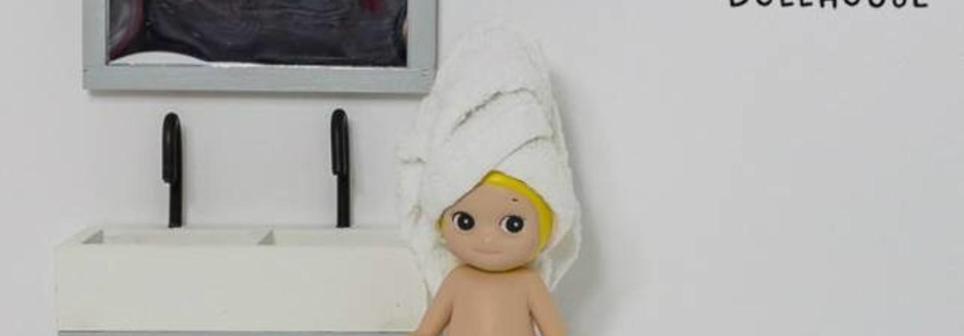Badkamer Spiegel Grijs