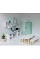 Project Dollhouse Keuken Betonlook