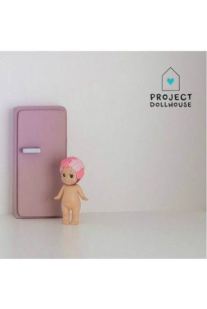 Refrigerator Old Pink