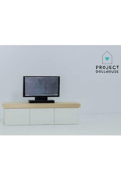 TV Cabinet White