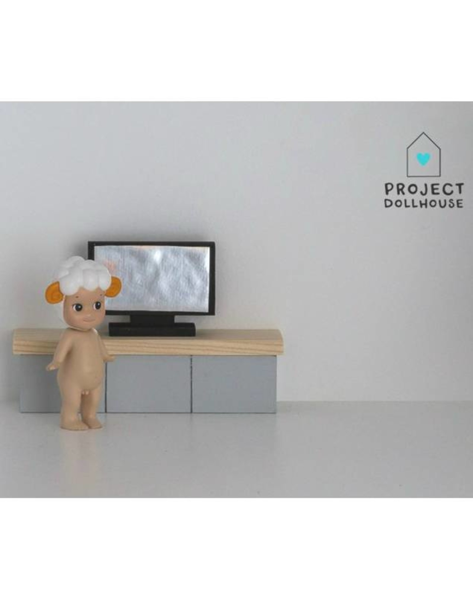 Project Dollhouse Flat Screen TV