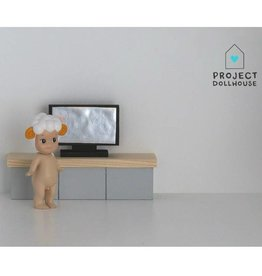 Project Dollhouse Flat Screen TV