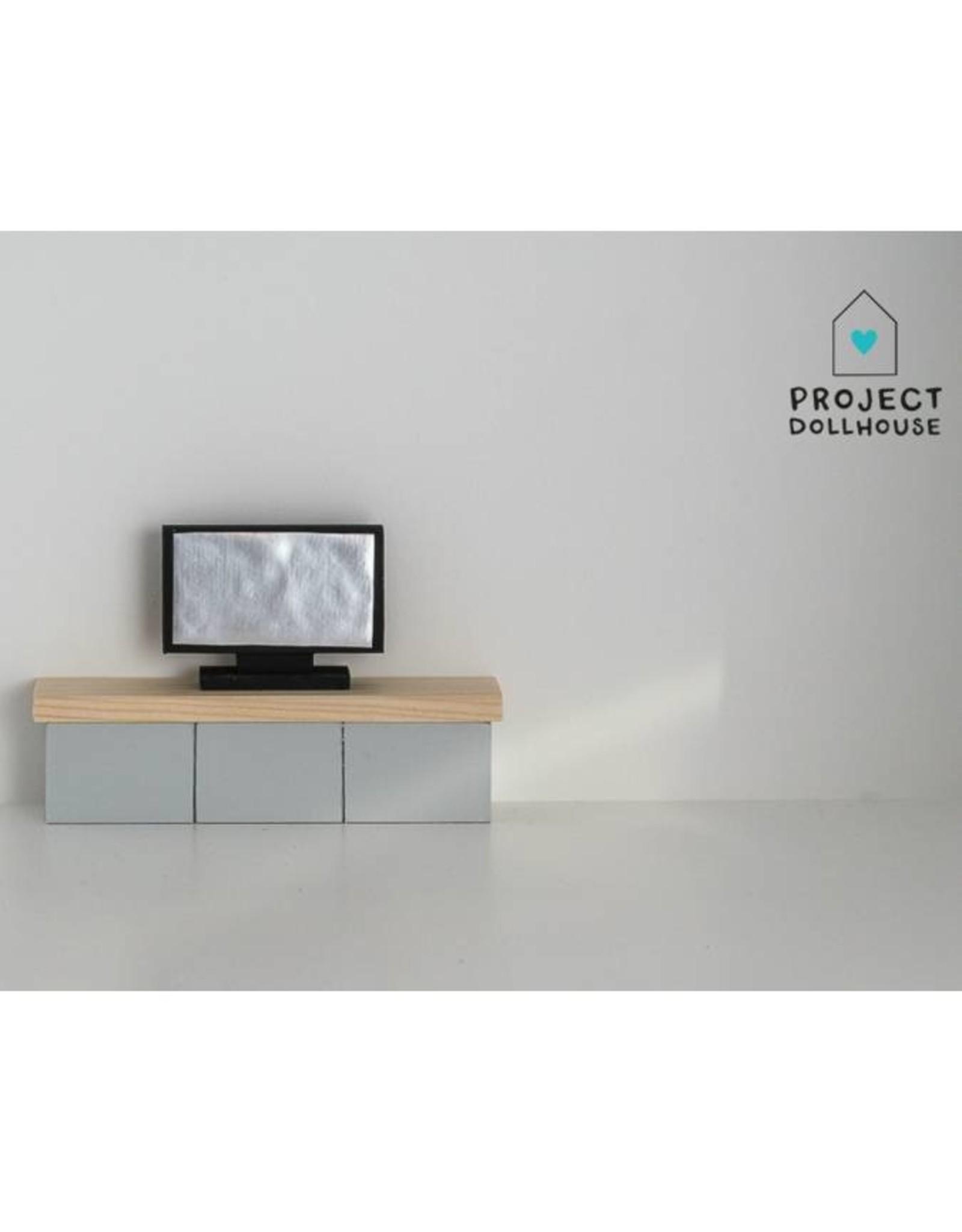 Project Dollhouse Flatscreen TV