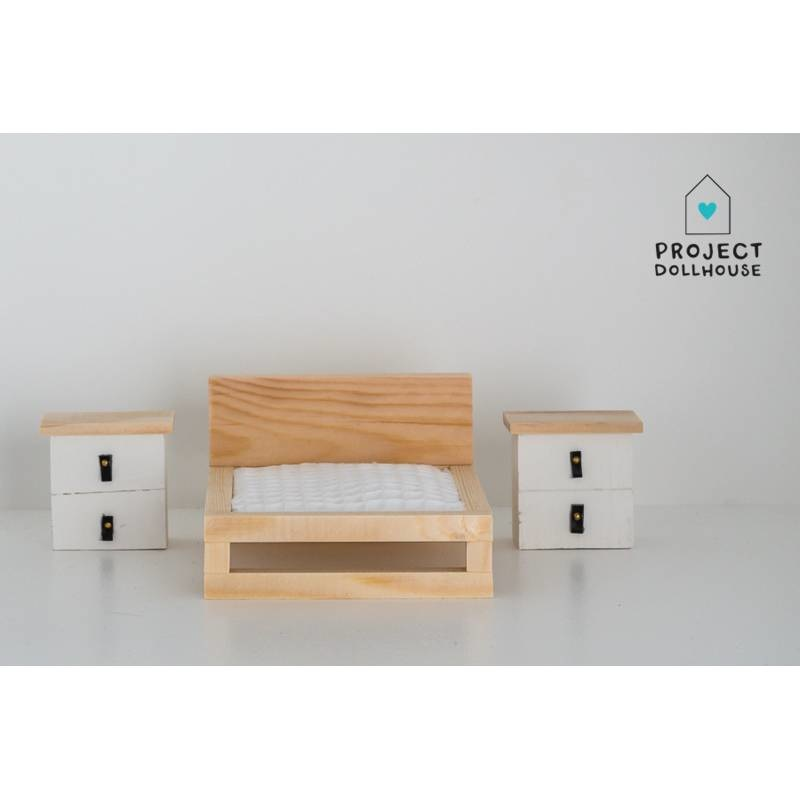 Set of two bedside tables-2