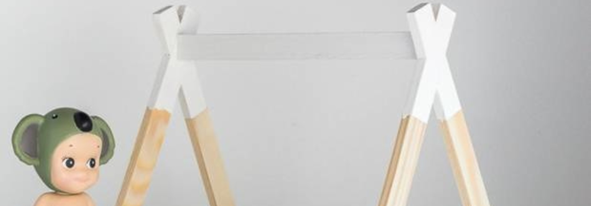 Tipi Bed Open Model Wit