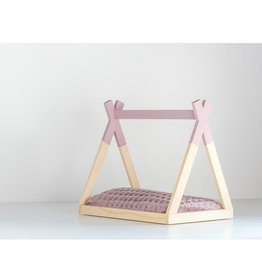 Project Dollhouse Tipi Bed Open Model Oud Roze