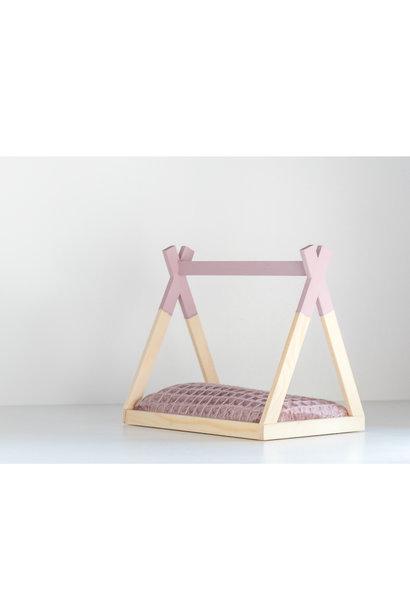 Tipi Bed Open Model Old Pink