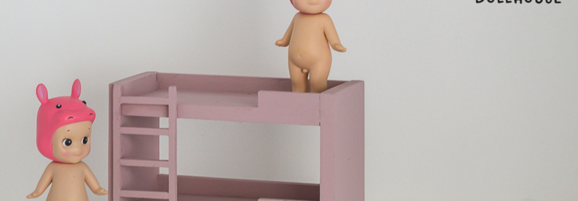 Bunk Bed Old Pink