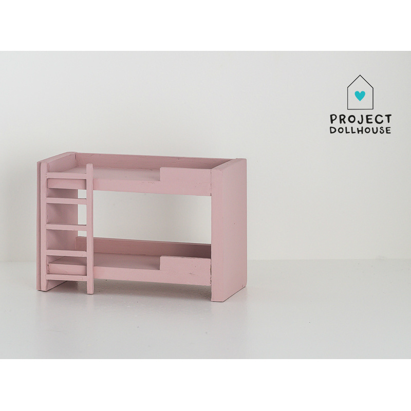 Bunk Bed Old Pink-2