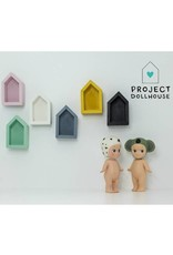 Project Dollhouse House Shaped Wall Cupboard
