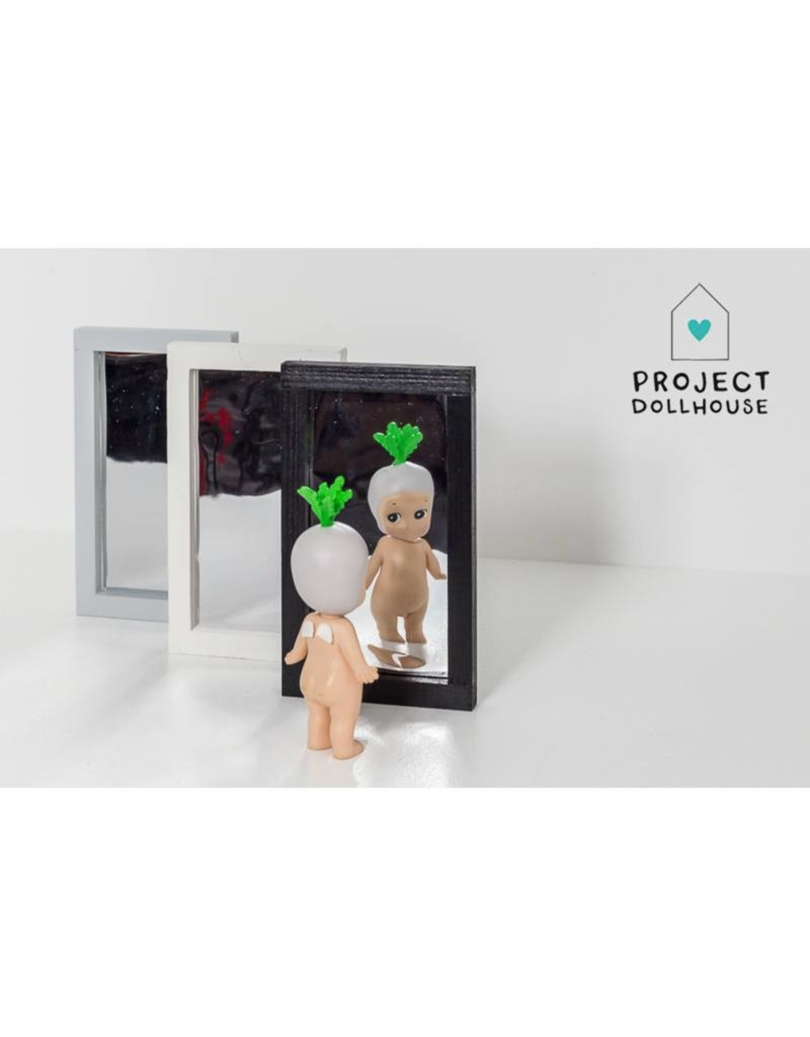 Project Dollhouse Large Modern Mirror