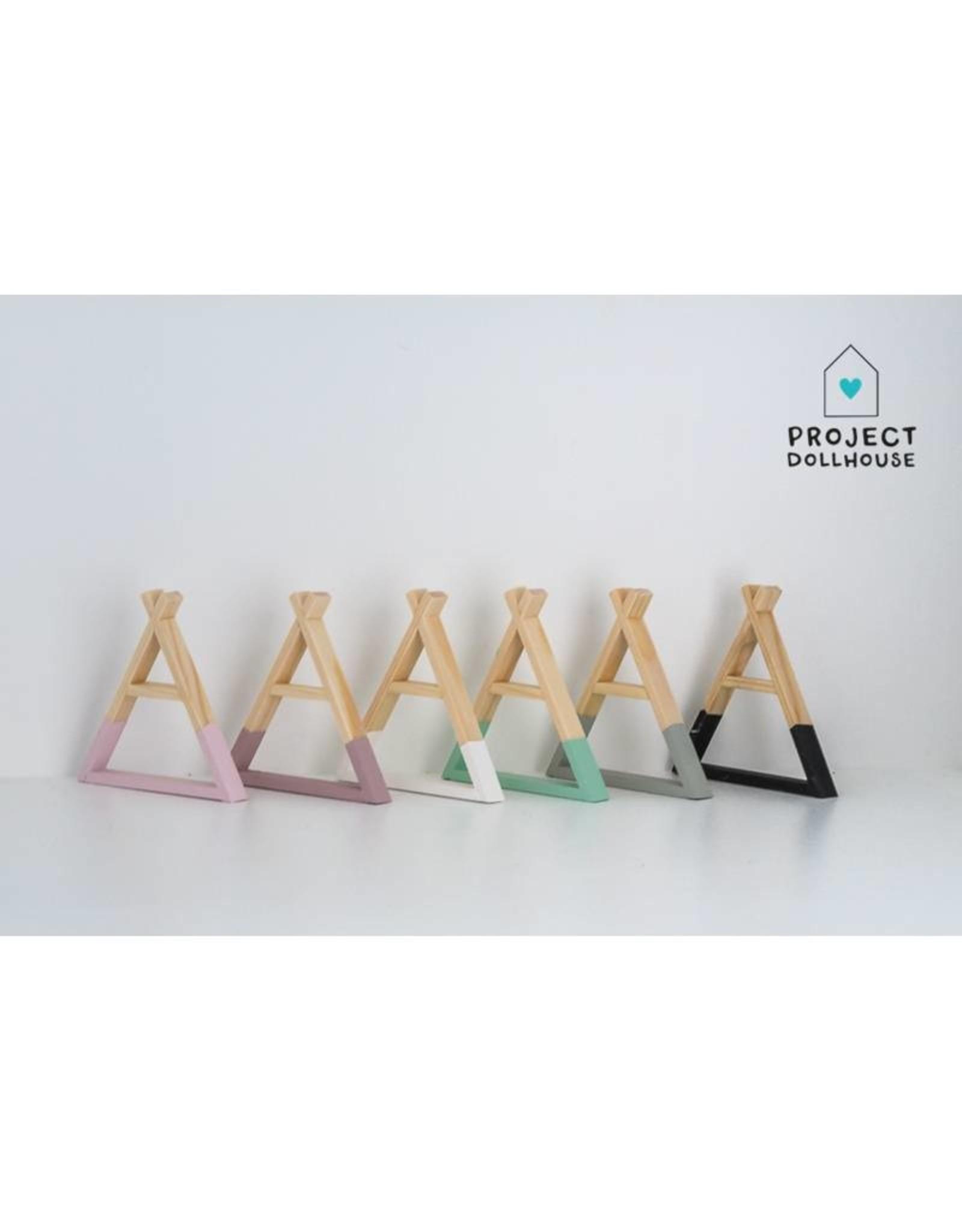 Project Dollhouse Tipi Wall Rack