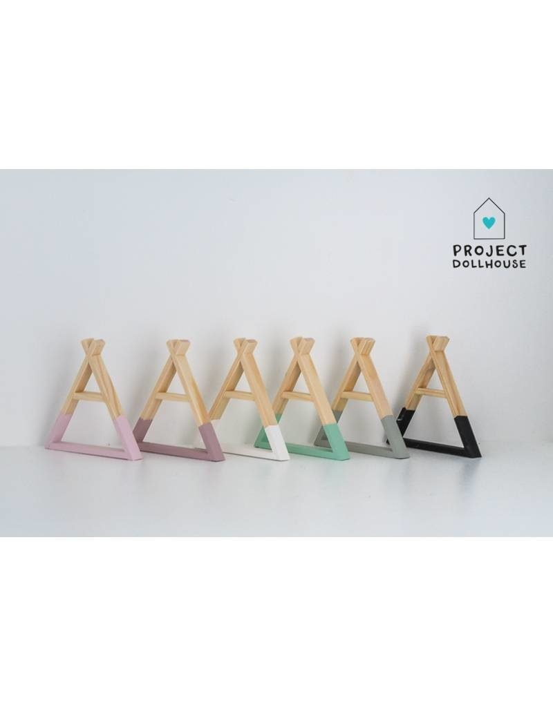 Project Dollhouse Tipi Wall Rack