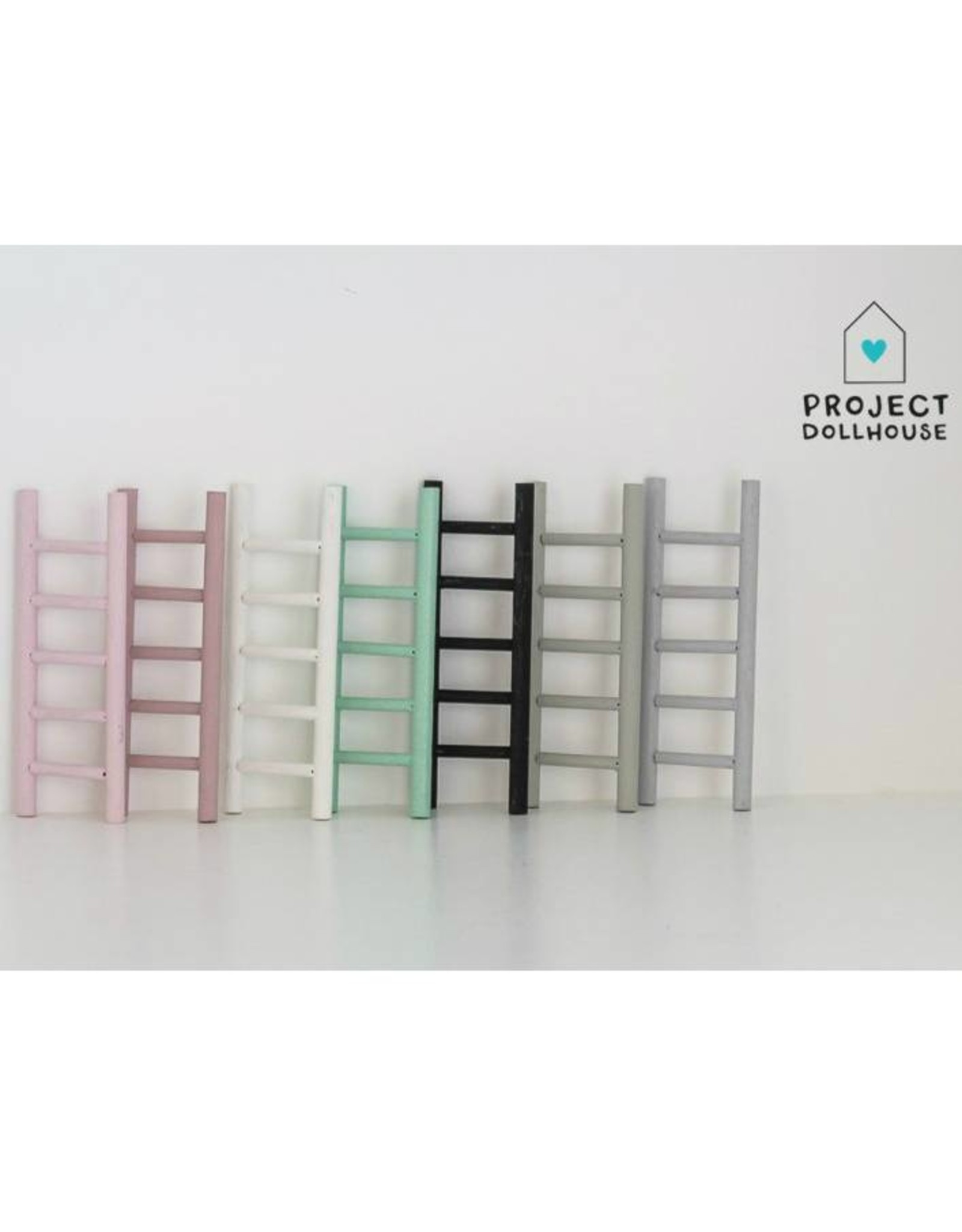 Project Dollhouse Decoration ladder