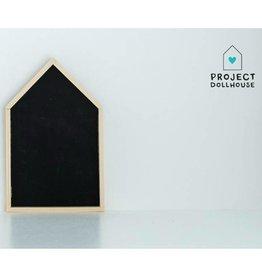 Project Dollhouse Huisjes Krijtbord